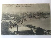 ANTIQUE VINTAGE PHOTO POSTCARD OLD PERTH FROM MOUNT ELIZA CARTE POSTALE 1910