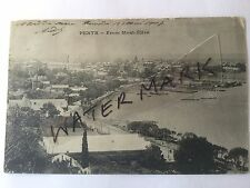 ANTIQUE VINTAGE PHOTO POSTCARD OLD PERTH FROM MOUNT ELIZA CARTE POSTALE 1910