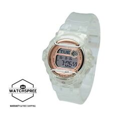 *NEW* CASIO LADIES BABY G DIGITAL ROSE GOLD TRANSPARANT WATCH BG169G-7B RRP £89