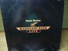 Mahogany Rush LP Live Very Clean 1978 Psych Rock Orig! Frank Marino Purple Haze