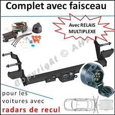 ATTELAGE Peugeot Boxer Fourgon L1 L2 L3 06- faisceau 7 br relais radars de recul