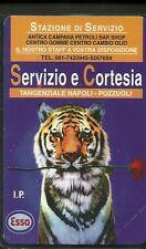 SCHEDE PRIVATE RESE PUBBLICHE L. 2000  NUOVA GOLDEN N. 273 ESSO TIGRE