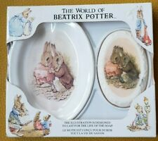 The World Of Beatrix Potter Soap Dish And Ceramic Dish