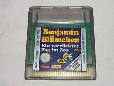 Nintendo Game Boy Color juego: Benjamin florecitas-uno de esos días locos en el zoo