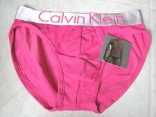 NEW Calvin Klein Steel Microfiber Hip Brief Underwear MEN XL Pink $24