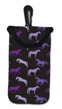 Tek Trek Horse Print Neoprene Sleeve Case Pouch Bag iPhone 5 Droid DNA Galaxy