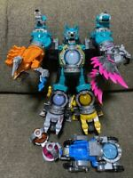 Space Squadron Kyuranger Cutama Combined DX Kerberios with Cogma Voyager Super