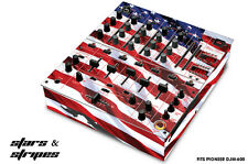 Skin Decal Wrap for PIONEER DJM-600 DJ Mixer CD Pro Audio DJM600 Parts USA FLAG