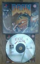 DOOM (Playstation 1, ID Games, Rare and complete, Classic Shooter, PS1 & PS3)