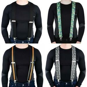 Oxford OF927 Braces Black Motorbike Motorcycle Riggers Suspenders Salopettes New