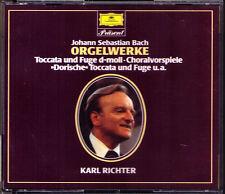 BACH Dorische Toccata & Fugue BWV 538 565 Passacaglia 582 Prelude Fantasie 2CD