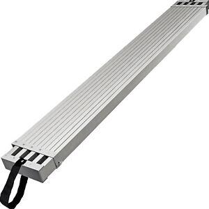 VEVOR Aluminum Work Plank Telescoping Plank 9ft w/ 440lb Capacity Scaffold Plank