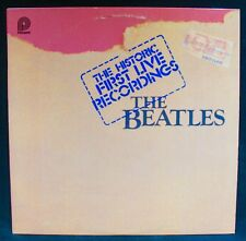 THE BEATLES-The Historic First Live Recordings~Double Album-PICKWICK #PTP 2098
