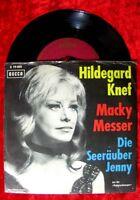 Single Hildegard Knef Macky Messer Seeräuber Jenny