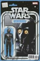 Star Wars Darth Vader #24 MARVEL Comics ACTION FIGURE COVER VARIANT TRIPLE ZERO