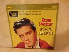 RECORD ELVIS  KING CREOLE ORIGINAL SOUNDTRACK RECORDING - 1958 - RCA  LSP-1884