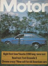 Motor magazine 15/11/1975 featuring Ford Granada 3000S road test, Austin 2200HL