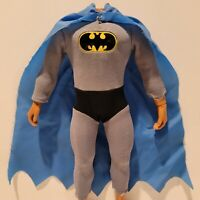 """Vintage 1970's Original Mego 12"""" BATMAN Suit Outfit Cape Magnetic NICE+++!!!"""
