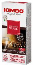 100 CAPSULE CAFFÈ KIMBO NAPOLI COMPATIBILI NESPRESSO Kimbo 10 ASTUCCI DA 10 CAPS