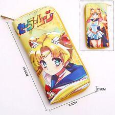 Sailor moon Anime Manga PU Geldbörse Geldbeutel 19.5x9.5x2.5cm Neu