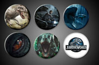 Jurassic World Magnets Indominus Rex Owen raptors Sea Dinosaur Eye Logo fridge
