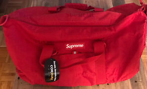**Pre-owned** Supreme SS19 Duffel Bag Red