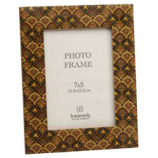 Vintage Style Floral Photo Frame Freestanding Decorative Picture Holder 7 x 5""