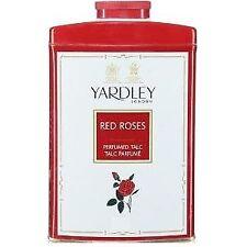 Yardley London Red Roses Perfumed Talc 200g Free Shipping