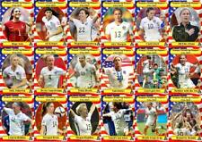 USA 2015 Women/'s FIFA World Cup Winners Football Trading Cards