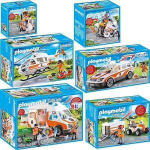 PLAYMOBIL City Life AUSWAHL Rettung Notarzt Krankenwagen