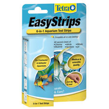 TETRA - EasyStrips 6-in-1 Aquarium Ammonia Test Kit - 25 Test Strips