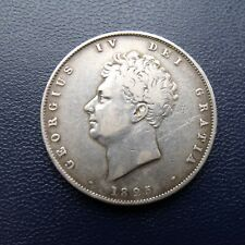 More details for 1825 half crown coin king george iiii .925 silver. british coins