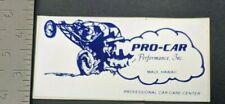 Vintage Pro-Car Performance Maui Hawaii Dune Buggy Beach Sticker Decal