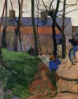 Fine Art Canvas Print HQ Wall Decor Bedroom Decoration Paul Gauguin Small 8x10
