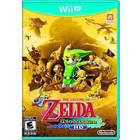 Legend of Zelda: The Wind Waker HD Nintendo Wii U Complete Gold Non Selects Gold