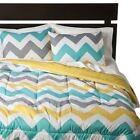 Chevron Comforter - White - Room Essentials™