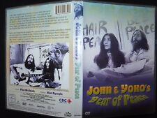 DVD JOHN & YOKO'S / YEAR OF PEACE /
