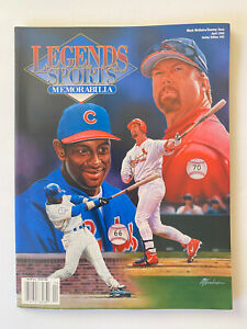 MARK McGWIRE/SAMMY SOSA Legends Sports Memorabilia April 1999 Hobby Edition #93