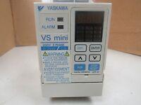 YASKAWA 3 PHASE VS MINI INVERTER DRIVE CIMR-XCAA20P2 CIMRXCAA20P2 200-230V 1.7A