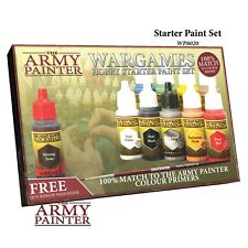 Warpaints Starter Paint Set 2017 Army Painter Water Based Acrylic New AP-WP8020
