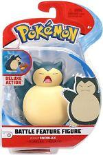 "Pokemon ~ Battle Feature Figure Pack ~ Snorlax ~ 4.5"" Figure Character"