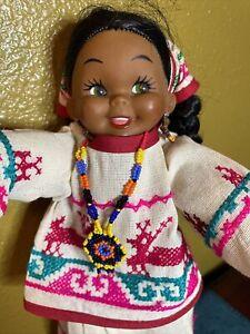 Adorable Ethnic Native American? tourist doll