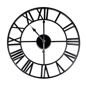 Roman Numeral Wall Clock Home Accessories Kitchen Clock M&W