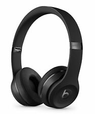 Apple Beats by Dr. Dre Beats Solo3 Wireless Bluetooth Headphones (Matte Black)