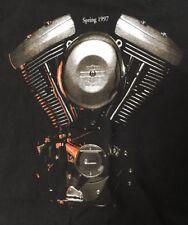Harley Davidson Vintage 1997 engine t-shirt
