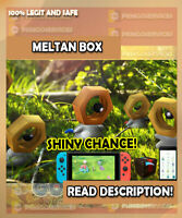 Pokemon GO INSTANT MELTAN BOX ✨ SHINY CHANCE ✨ READ DESCRIPTION