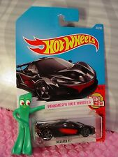MCLAREN P1 #363✰black/red;gray PR5✰THEN AND NOW✰2017 i Hot Wheels case Q