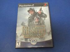 PlayStation 2, Medal of Honor, Frontline, Rated T, You Don't Play, You Volunteer