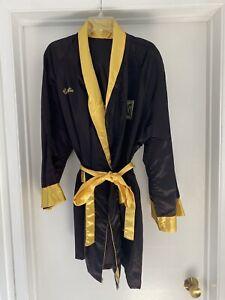 Vtg Everlast Boxing Robe Marvelous Motsko Boxing Priest Charlie Embroidered