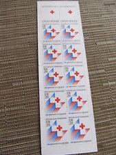 Carnet de timbres Croix-Rouge 1988 125eme anniversaire non plié